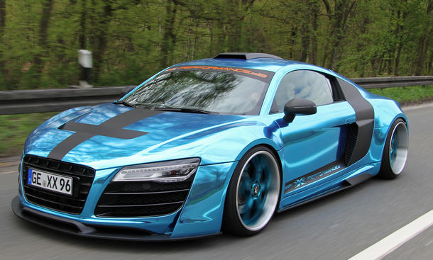 XXX-Performance Tuning Supersportwagen Audi R8 V10 2013 Leistungssteigerung