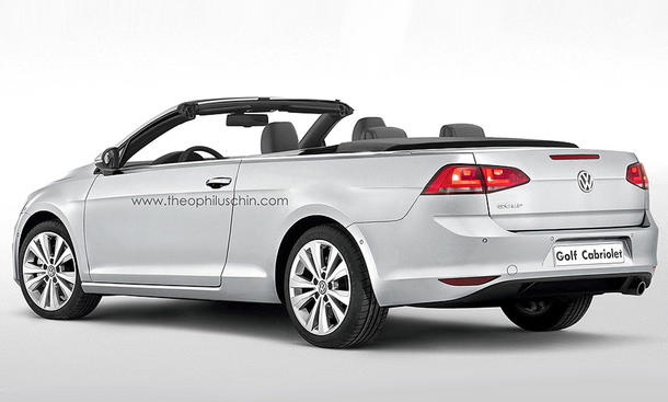 vw golf 7 cabrio 2015 zuwachs f r die golf familie im anmarsch. Black Bedroom Furniture Sets. Home Design Ideas