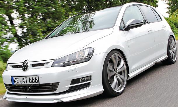 Abt VS4 VW Golf VII 7 2.0 TDI Tuning Kompakter Diesel Bodykit Leistungssteigerung Tieferlegung