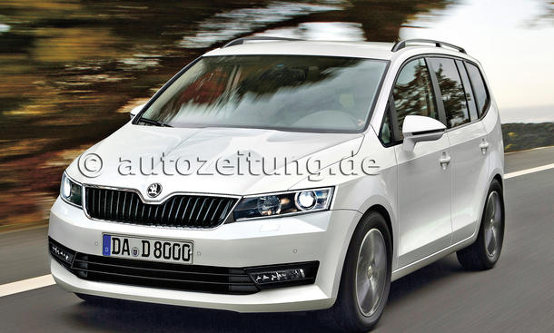 neuheiten neue skoda modelle rapid spaceback fabia superb combi yeti citifun bild 8. Black Bedroom Furniture Sets. Home Design Ideas