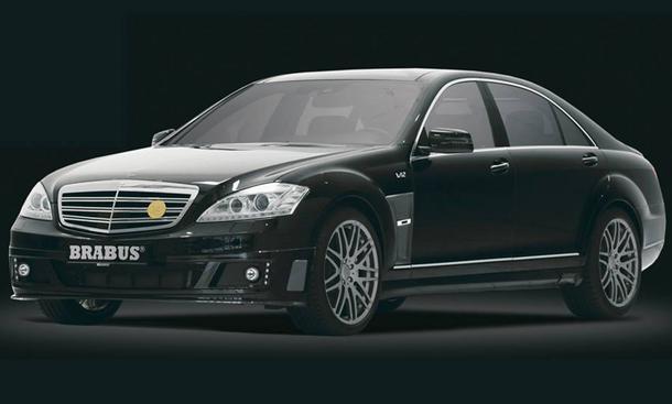 Brabus 60 S Dragon Edition Sondermodell Luxus-Limousine V12 Mercedes S-Klasse S600 Tuning