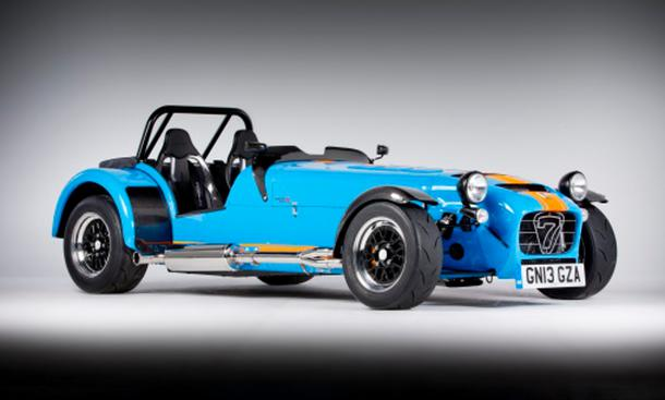 Caterham Seven 7 620 R Top-Modell Roadster Premiere Goodwood Festival Of Speed 2013 Ford Vierzylinder