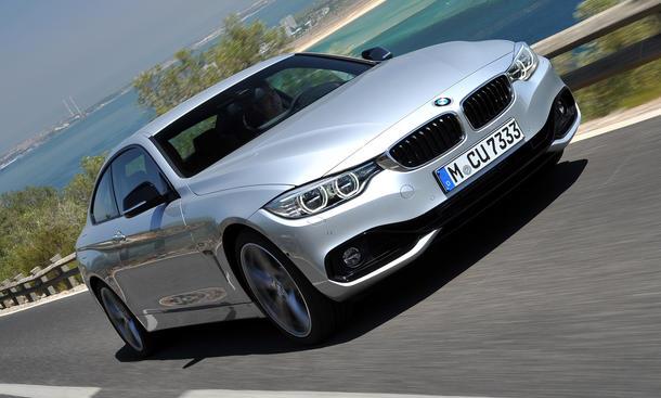 Fahrbericht BMW 4er Coupe 2013 435i Bilder technische Daten