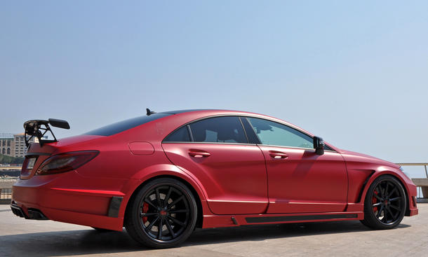 German Special Customs Mercedes CLS 63 AMG 2013 Tuning Stealth