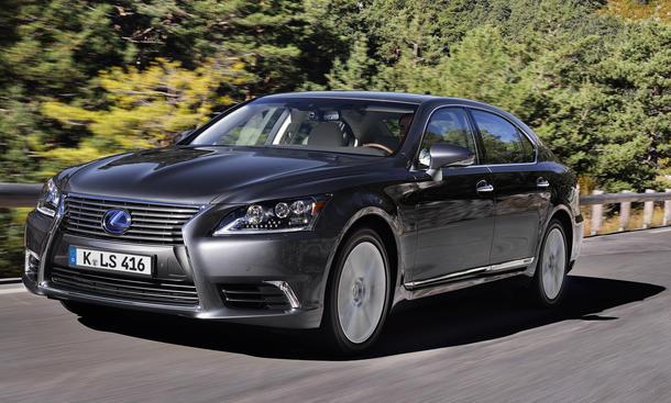 Lexus LS 600h Hybrid Luxus-Limousine Facelift 2013 V8 Test Langversion F-Sport