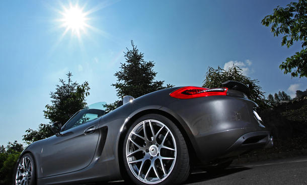 Schmidt Revolution Felgen Porsche Boxster Gambit Tuning