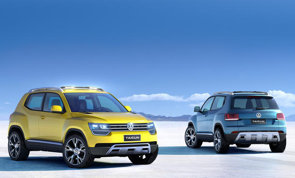 VW Taigun Bilder Up SUV Preise Markteinführung