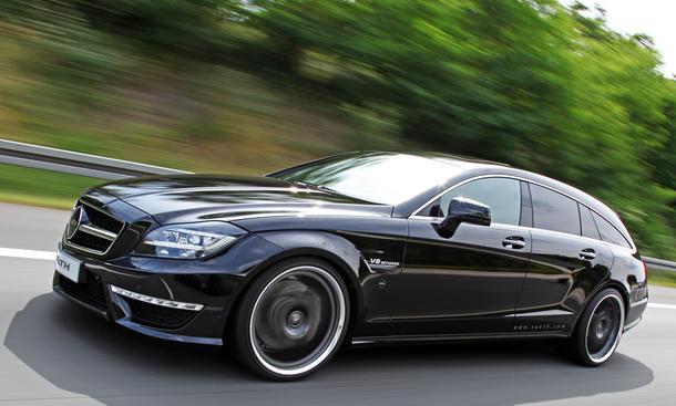 Vaeth Mercedes CLS 63 AMG Tuning V63 Shooting Brake Kombi
