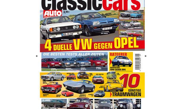 AUTO ZEITUNG CLASSIC CARS 9/2013: Vorschau