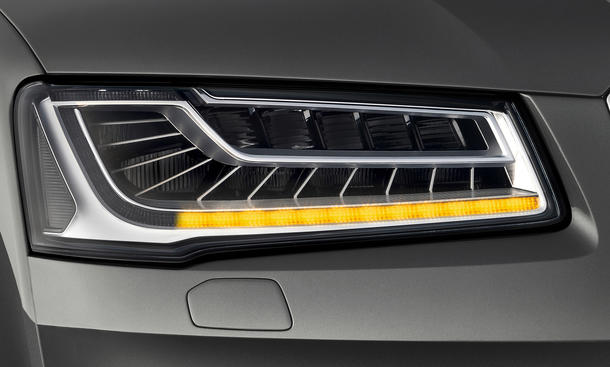 2013 Audi A8 Facelift Blinker Blinklicht IAA Matrix-LED Lichttechnik