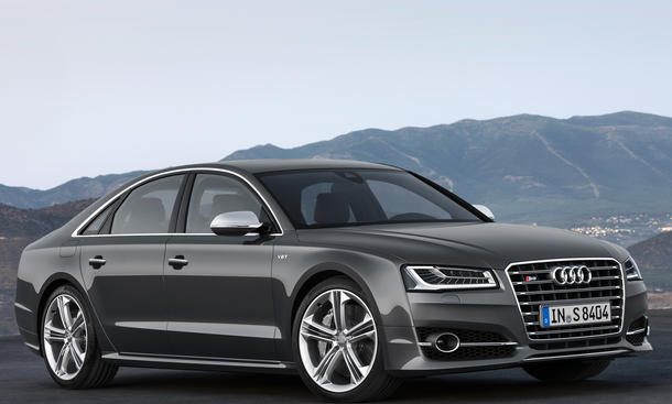 2013 Audi S8 Facelift Sound Video IAA Sport Luxus Limousine A8