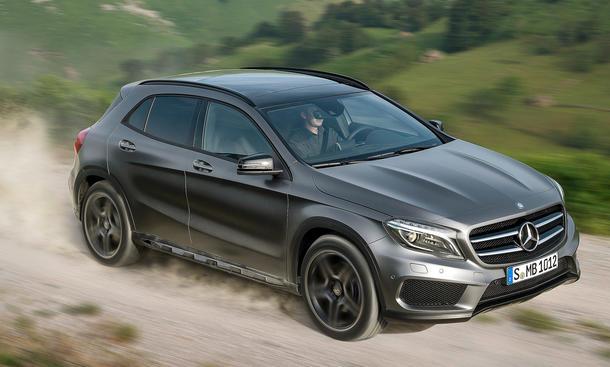 2014 Mercedes GLA IAA 2013 Kompakt-SUV 4Matic Motoren Technik Allrad Preis
