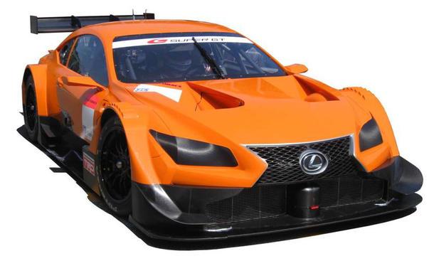 Lexus Rennwagen Super GT Serie 2014