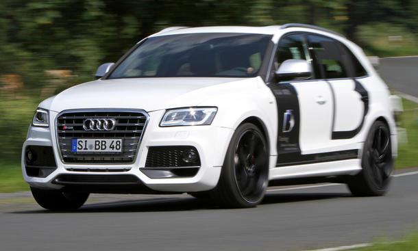 Audi SQ5 B&B Tuning Leistungssteigerung Sport-SUV Bodykit