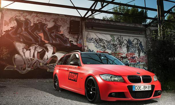 BBM BMW 330d Touring 3er E91 Tuning Leistungssteigerung Chip