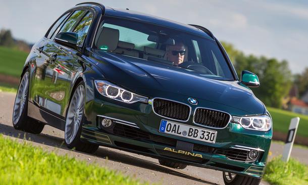 BMW Alpina D3 2013 IAA Diesel Biturbo