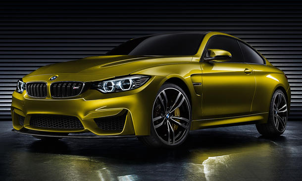 BMW Concept M4 2013 Pebble Beach Design Studie