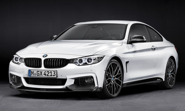 BMW M Performance Zubehoer 4er Coupe IAA 2013 435i Tuning