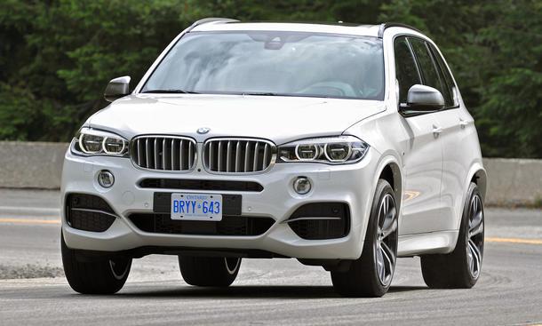 BMW X5 M50d 2013 F15 Bilder SUV