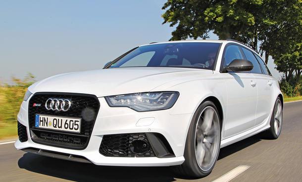 Bilder 2013 Audi RS6 Avant Vergleichstest Leistung