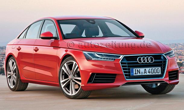 Bilder Neuheiten Audi A4