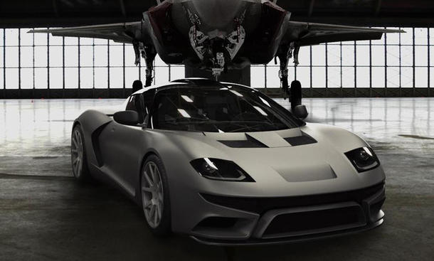 Bulleta RF22 Supersportwagen Lotus Evora Manufaktur USA V6