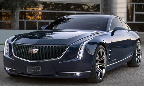 Cadillac Elmiraj Concept Studie IAA 2013 Luxus-Coupé V8