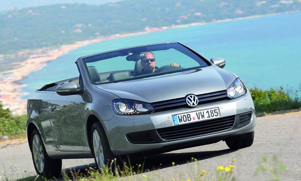 VW Golf Die günstigsten Cabrios 2013 Deutschland Raodster Preis Top 10
