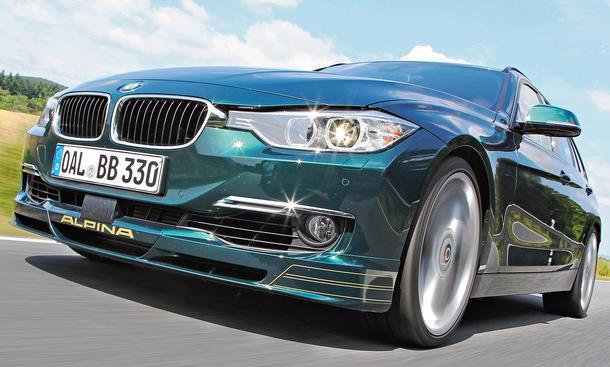 BMW Alpina B3 Biturbo Touring 2013 3er Kombi Fahrbericht Test