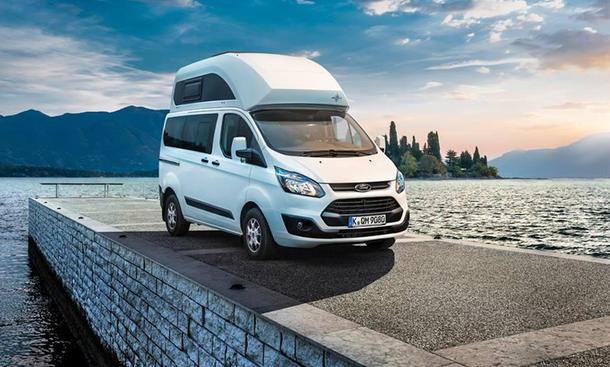 Ford Nugget 2013 Transit Custom Bilder Hochdach Caravan Wohnmobil