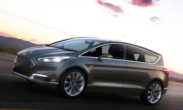 Ford S-Max Concept 2013 Studie IAA Sport-Van Design SAV Front