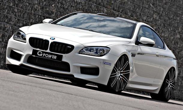 G-Power BMW M6 2013 710 PS Leistungssteigerung Motor-Tuning