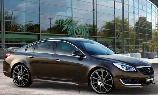 Irmscher Opel Insignia 2013 Facelift Limousine Bilder