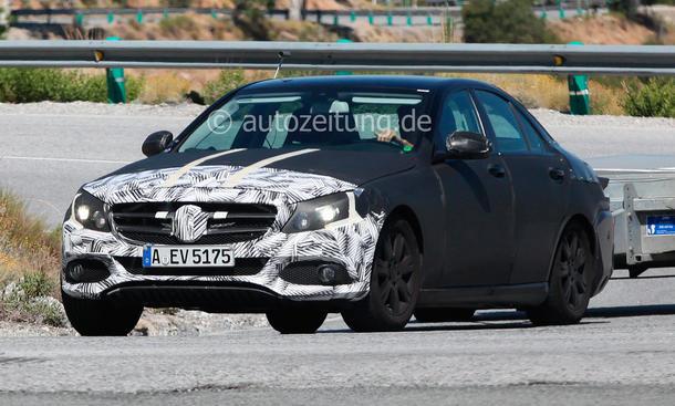 Mercedes C-Klasse W205 2014 Bilder Mittelklasse Kassenschlager