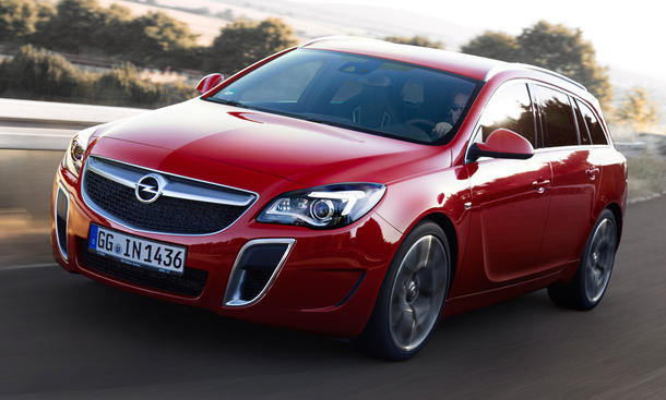 Opel Insignia OPC Facelift 2013 Premiere IAA Sports Tourer Limousine