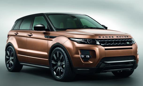 Range Rover Evoque 2014 SUV IAA Assistenzsysteme 9-Gang-Automatik
