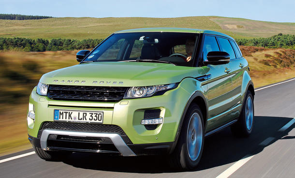 Range Rover Evoque SD4 2013 Test SUV Coupé