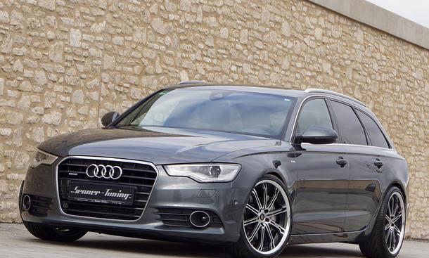 Senner Audi A6 3.0 TDI 2013 Bi-Turbodiesel Tuning Leistungssteigerung Tieferlegung