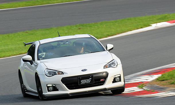 Subaru BRZ tS 2013 STI Tuning Japan tuned by STi