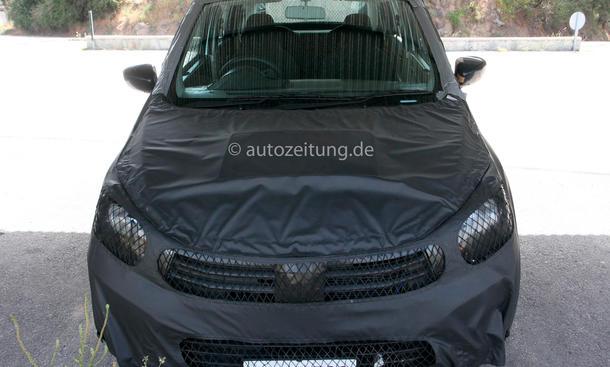 Suzuki Alto Erlkönig 2014 Kleinstwagen Bilder Front