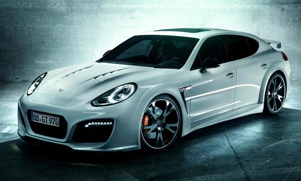 Techart GrandGT Porsche Panamera Facelift IAA 2013 Tuning Leistungssteigerung Bodykit