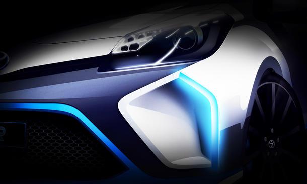 Toyota Hybrid R 2013 IAA Sportwagen Studie TS030