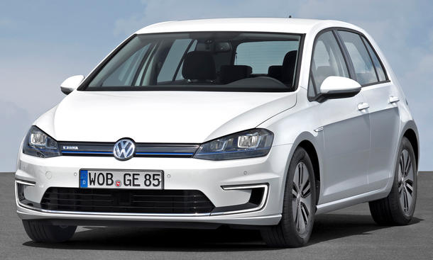 vw e golf und e up elektroauto duo feiert premiere auf. Black Bedroom Furniture Sets. Home Design Ideas