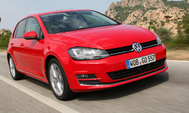 vw golf 7 1 4 tsi act 2013 im test bilder und technische. Black Bedroom Furniture Sets. Home Design Ideas