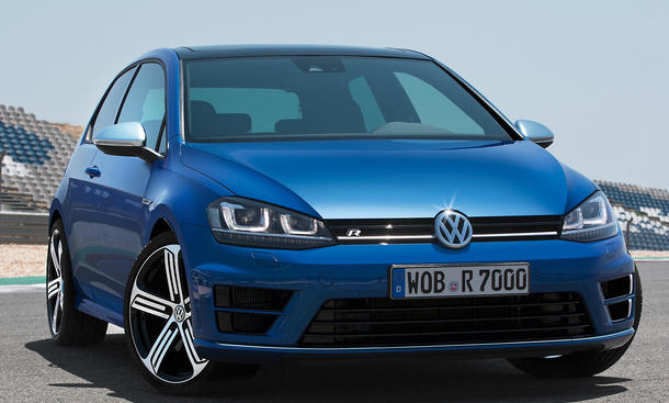 VW Golf R 2013 IAA 7 Kompaktsportler Allrad 300 PS