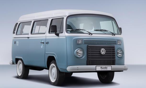 VW T2 Bulli Brasilien Produktion Ende 2013 Last Edition Transporter Kombi