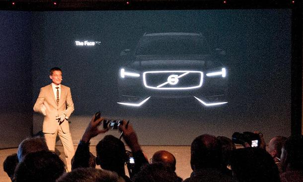 Volvo XC90 2014 Erste Bilder SUV Gelaendewagen Design Front