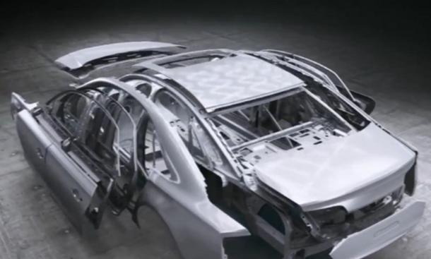 Video 20 Jahre Audi Space Frame Leichtbau IAA 2013 Audi A8 Facelift