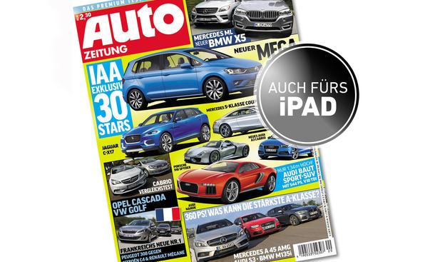 AUTO ZEITUNG 20/2013 Cover Bilder Vorschau