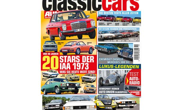 AUTO ZEITUNG CLASSIC CARS 10/2013: Vorschau